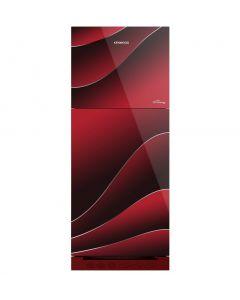 Kenwood KRF-25557 GD 15 Cubic Feet Glass Door Refrigerator (New) Persona Plus Series Low Voltage Startup upto 170V & Energy Efficient 35% On Installment
