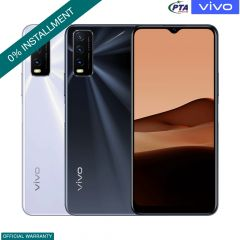 Vivo Y20 - 6.51 Inch Display - 4GB RAM - 64GB ROM - PTA Approved - 1 Year Official Brand Warranty - On Installments - The Tech Upgrade